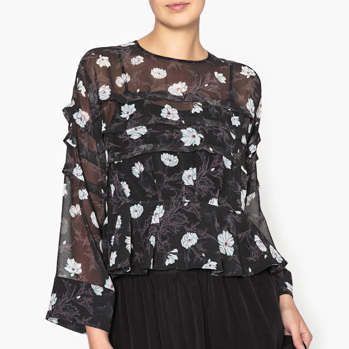 Блузка с воланами купить